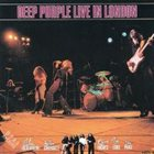 DEEP PURPLE Live In London album cover