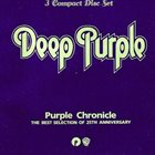 DEEP PURPLE Purple Chronicle: The Best Selection Of 25th Anniversary album cover