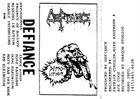 DEFIANCE Hypothermia album cover