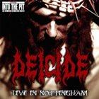 DEICIDE Live In Nottingham album cover