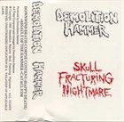 DEMOLITION HAMMER Skull Fracturing Nightmare album cover