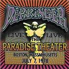 DERRINGER Live At The Paradise Theater, Boston Massaschussetts, July 7, 1978 album cover