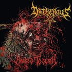 DETHEROUS Hacked To Death album cover