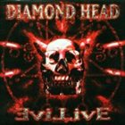 DIAMOND HEAD Evil Live album cover