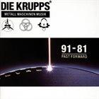 DIE KRUPPS Metall Maschinen Musik: 91-81 Past Forward album cover