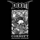 DOOM Corrupt Fucking System album cover