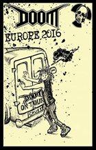 DOOM Europe 2016 album cover