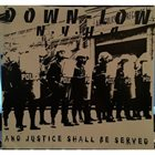 DOWN LOW And Justice Shall Be Served / Caco Raspado album cover