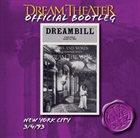 DREAM THEATER New York City 3/4/93 album cover