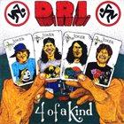 D.R.I. Four of a Kind Album Cover
