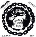 DRILLER KILLER L.I.F.E E.P album cover