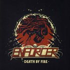 ENFORCER Death By Fire Album Cover