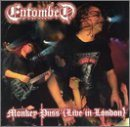 ENTOMBED Monkey Puss (Live in London) album cover