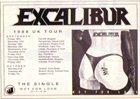 EXCALIBUR Hot For Love album cover