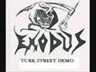 EXODUS Turk Street demo album cover