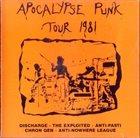 THE EXPLOITED Apocalypse Punk Tour 1981 album cover