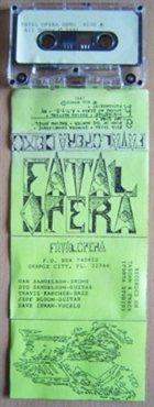 FATAL OPERA Demo album cover