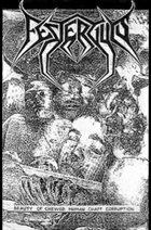 FESTERGUTS Beauty Of Chewed Human Chaff Corruption album cover