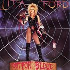LITA FORD Out for Blood album cover