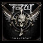 FOZZY Sin and Bones album cover