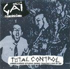 GAI Total Control - Unreleased Studio Demo Tracks Live album cover