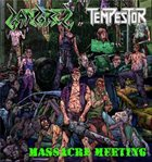 GANGREL Massacre Meeting album cover