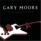 GARY MOORE Live At Monsters Of Rock album cover