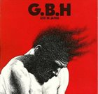G.B.H. Live In Japan album cover