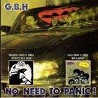 G.B.H. No Need To Panic / Oh No It's G.B.H. Again / Wot A Bargin' album cover