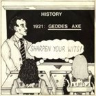 GEDDES AXE Sharpen Your Wits album cover