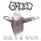 GREED Silence Is No Reaction album cover