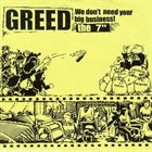 GREED We Don't Need Your Big Business! album cover
