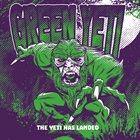 GREEN YETI The Yeti Has Landed album cover