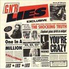 GUNS N' ROSES G N' R Lies album cover