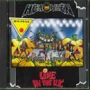 HELLOWEEN — Live in the U.K. album cover