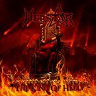HELSTAR The King of Hell album cover