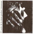HIATUS El Sueño De La Razon Produce Monstruos album cover