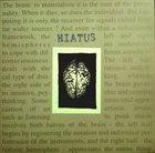 HIATUS The Brain album cover