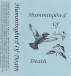 HUMMINGBIRD OF DEATH Hummingbird Of Death album cover