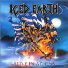ICED EARTH Alive in Athens album cover