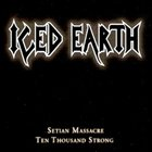 ICED EARTH Setian Massacre album cover