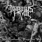 IMPIOUS HAVOC Manifestation of Plague and War album cover
