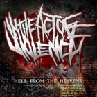 IN THE ACT OF VIOLENCE Hell From The Heavens album cover