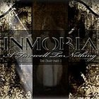 INMORIA A Farewell To Nothing - The Diary Part 1 album cover