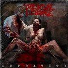 INTESTINAL DISGORGE Depravity album cover