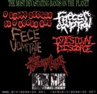 INTESTINAL DISGORGE The Most Devastating Bands on the Planet album cover