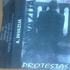 INVAZIJA Protestas  album cover
