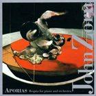 JOHN ZORN Aporias (Requia For Piano And Orchestra) album cover