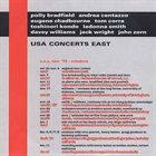 JOHN ZORN USA Concerts East (with Polly Bradfield, Andrea Centazzo, Eugene Chadbourne, Tom Corra, Toshinori Kondo, LaDonna Smith, Davey Williams & Jack Wright) album cover