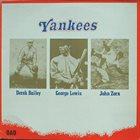 JOHN ZORN Yankees (with Derek Bailey & George Lewis) album cover